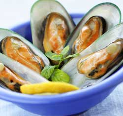 Q:  What are some of the different types of seafood?